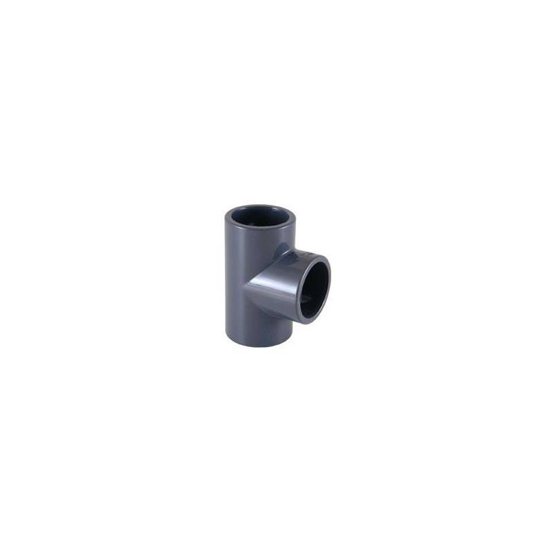 Teu PVC-U D75, 90 grade  de la Cepex referinta 01786
