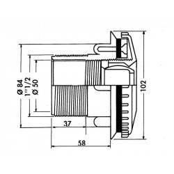 Duza refulare perete liner Multiflow  de la Hayward referinta 3315