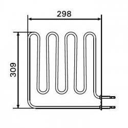 Rezistenta electrica incalzitor sauna 2750 W, Harvia ZSB-462  de la Harvia referinta ZSB-462