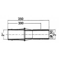 Trecere perete beton 250 mm  de la Hayward Pool referinta 3350