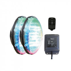 Set 2 becuri RGB cu modul si telecomanda  de la CCEI referinta WEX30X2
