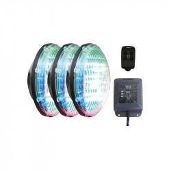Set 3 becuri RGB cu modul si telecomanda  de la CCEI referinta WEX30X3