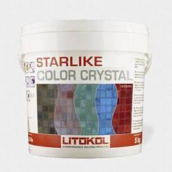 Chit Starlike ColorCrystal C.353 Azzurro Taormina 2.5KG  de la Litokol referinta CCRTAZTO2.5