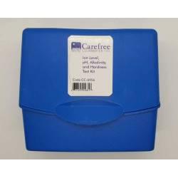Kit tester Ioni, pH, Alcalinitate si Duritate - CareFree  de la Carefree Clearwater referinta TKCW