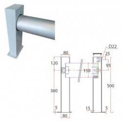 Prelata cu lamele PVC Junior 10x5m, tambur suprateran fara carcasa  de la Walter referinta SLATSJR10X5