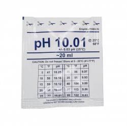 Solutie de calibrare 20ml pH 10.01 +/- 0.03  de la Water-I.D. referinta EMpHbuf1000-20