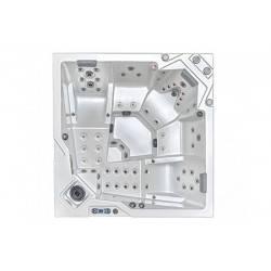 Spa Onyx OKA 4, model patrat, 5 locuri  de la Hanscraft referinta SPA-OKA4