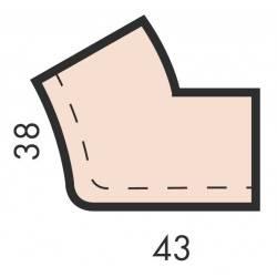 Colt exterior Roman 32cm - dreapta  de la Pierra referinta PMA321D