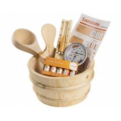 Set accesorii sauna Basic 11 piese  de la Sentiotec referinta 1-028-648