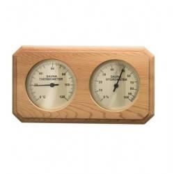 Termo-higrometru sauna cedru rosu  de la Sentiotec referinta 1-028-652