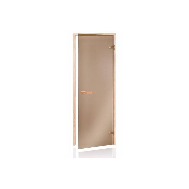 Usa sauna pin sticla bronz 700 x 1900 mm  de la  referinta HS-719PM ECO