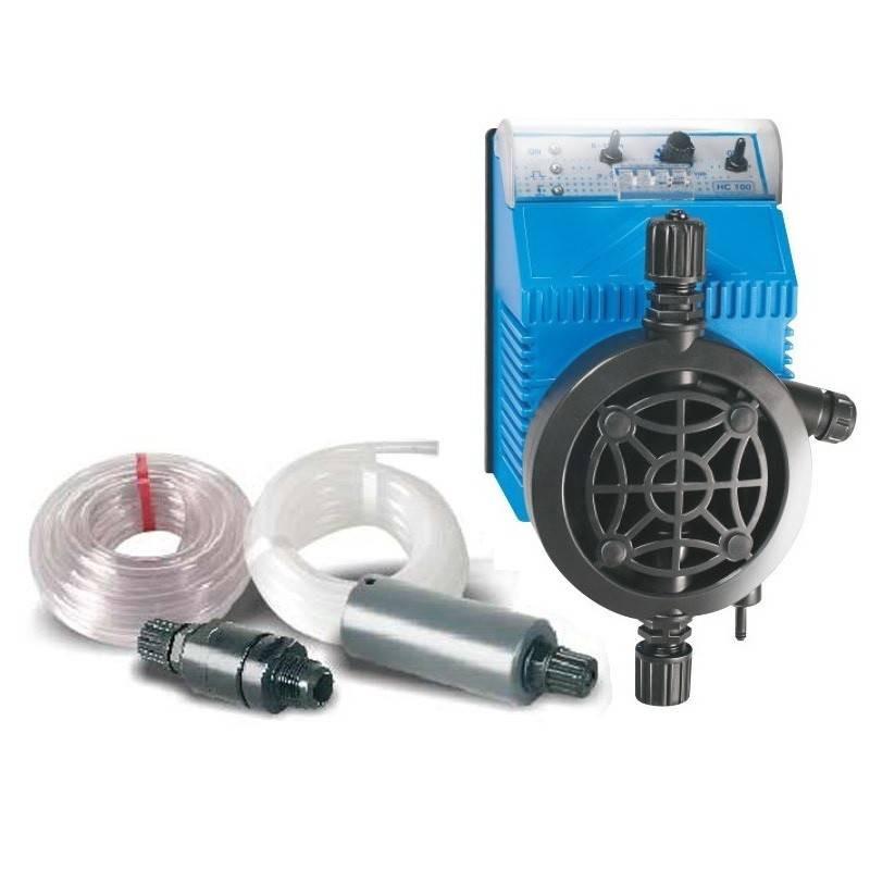 Pompa dozare cu membrana, debit variabil, 4l/h 5bar  de la Idegis referinta HC1004.05