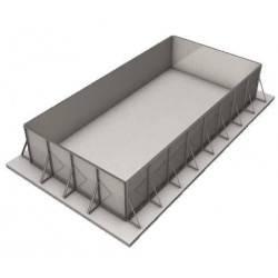 Piscina cu structura metalica - set panouri otel 8x4x1.4m SteelPrime  de la SpaZone referinta ORL8414SET1