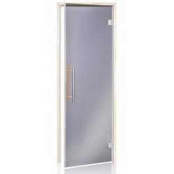 Usa premium sauna 7 x 19 plop tremurator, sticla gri, inchidere magnetica  de la  referinta HS-719HH BL