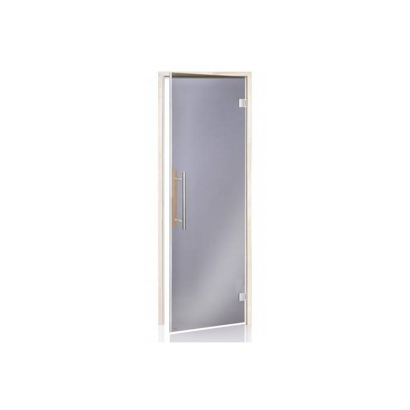 Usa premium sauna 7 x 19 plop tremurator, sticla gri, inchidere magnetica  de la SpaZone referinta HS-719HH BL