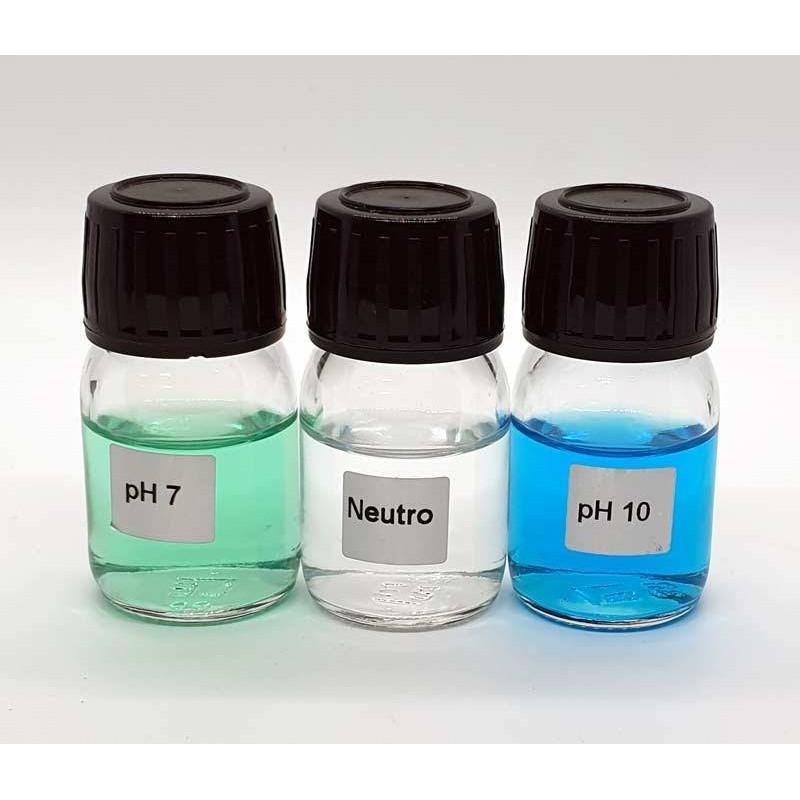 Set solutii calibrare pH 7, pH 10, pH neutru  de la Sugar Valley referinta ACPPH