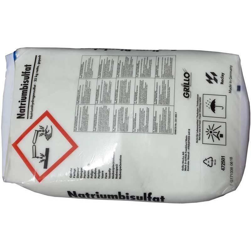 Corector pH minus solid 25kg  de la SpaZone referinta CHS 10-25