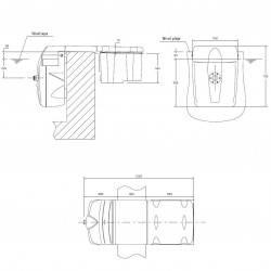 Unitate filtrare monobloc piscina 45 mc, lumina led alb, bypass integrat  de la Filtrinov referinta FB12PCVTLEDB/B