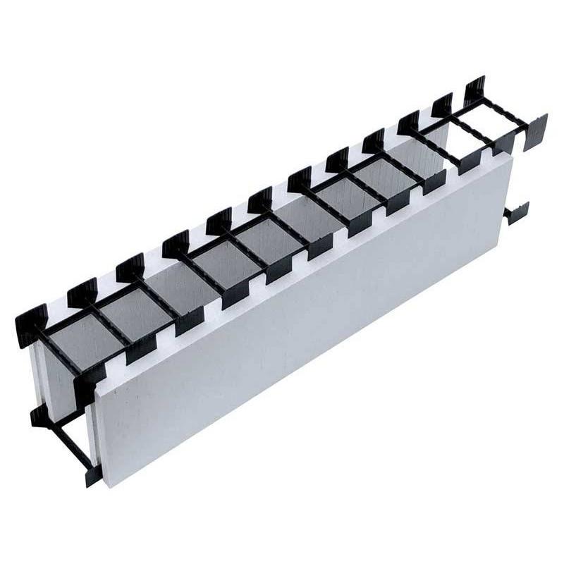 Bloc standard drept polistiren gri 1.25m - Xtrem Bloc  de la SpaZone referinta X1001