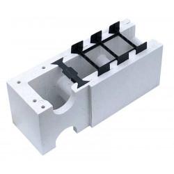 Bloc colt reversibil polistiren gri 0.77m - Xtrem Bloc  de la SpaZone referinta X1002