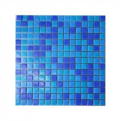 Decoratiune mozaic Sirena 144x305cm fundal mix103  de la VetroGlassMosaic referinta SIRENA 103