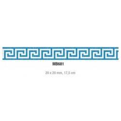 Friza mozaic sticla MB681...
