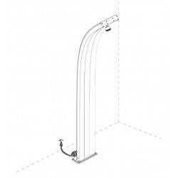 Filtru anticalcar pentru dusuri  de la Arkema Design referinta D150