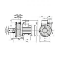 Pompa hidromasaj SAM 2 - 240  de la  referinta 294041