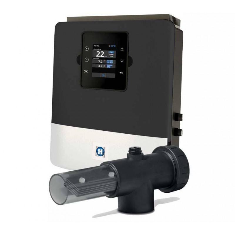 Sistem electroliza Aquarite LT 50g/h, 300 mc, celula transparenta  de la Hayward referinta AQR-LTO-SV50