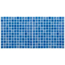 Mozaic sticla Niebla Celeste, suport polybond, 2.5x2.5 cm, cutie 2mp  de la SpaZone referinta HS501