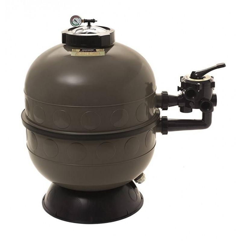 Filtru nisip Pro-HI D400 vana laterala - 6 mc/h  de la Hayward Pool referinta S160SIE