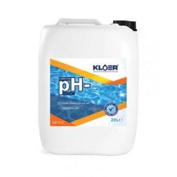 Corector pH minus lichid 20L  de la KLOER referinta CPH20L