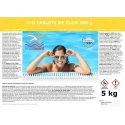 Clor lent tablete pentru piscine 5kg  de la Pool Guard referinta CHS 370-5