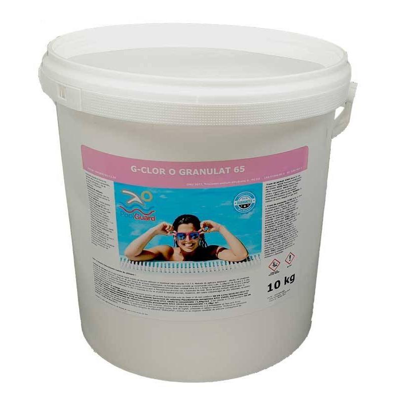 Clor rapid granule 10kg  de la Pool Guard referinta CHS 200-10