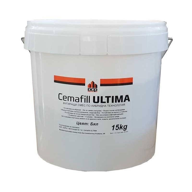 Chit de rosturi Cemafill ULTIMA 15 kg  de la DCP referinta Cemafill ULTIMA