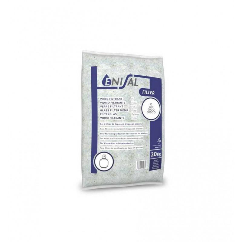 Material filtrare sticla granulatie 2-3 mm, sac 20 kg  de la Enisal referinta 03606