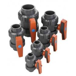 Robinet PVC cu sfera D50  de la Cepex referinta 36505