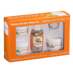Set Wellness 5 bucati, esenta ceai verde  de la Sentiotec referinta 1-037-414