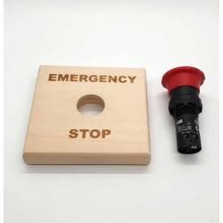 Intrerupator oprire de urgenta sauna  de la Sentiotec referinta 1-047-109