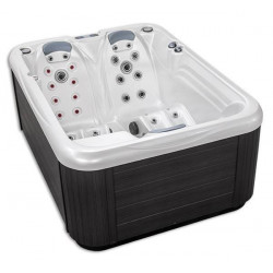 Spa Plug & Play 4, model patrat, 3 locuri  de la Hanscraft referinta SPA-HC4PP