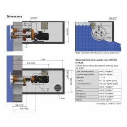 Sistem inot contra-curent Jet Swim 2000 - beton  de la Pahlen referinta 33030