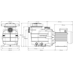 Pompa Powerline 0.75 CP Hayward  de la Hayward Pool referinta 81005