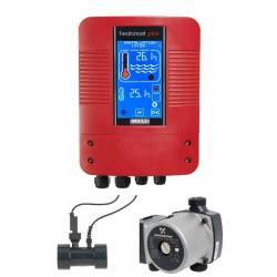 Panou control schimbator caldura HeatSmart+ cu pompa Grundfos  de la Elecro Engineering referinta PSPC-HE-GP