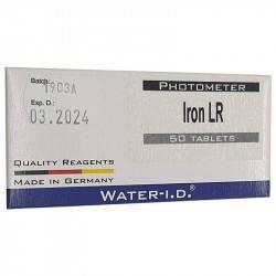 Tablete reactivi Iron LR, fotometru, 50 bucati  de la Water-I.D. referinta TbsPILR50
