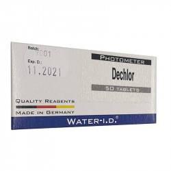 Tablete reactivi tester Dechlor, 50 bucati  de la Water-I.D. referinta TbsHDC50