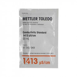 Solutie de calibrare 20ml conductivitate 1413 μS/cm, tester FT33  de la Water-I.D. referinta EMecbuf1413-20