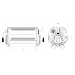 Incalzitor electric titan 72kW SFS Joey Digital  de la Elecro Engineering referinta SFSD-72
