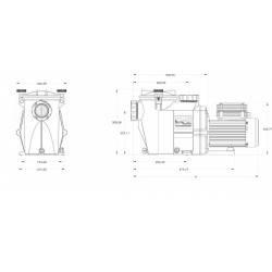 Pompa recirculare RS II 1.50 CP Hayward  de la  Hayward Pool referinta RS3016EV1