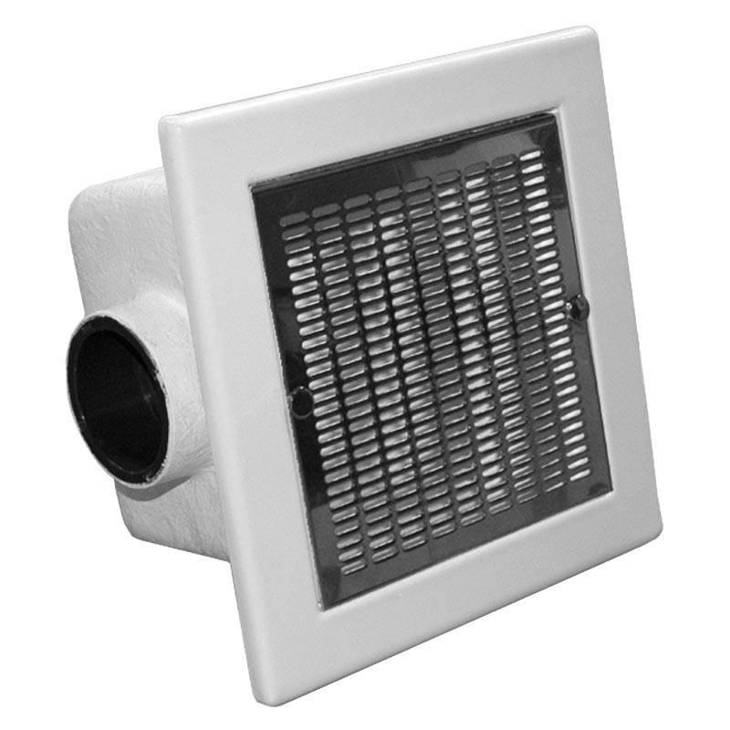 Sifon patrat beton 512x512 grila inox 316 - D160  de la Hayward Commercial Aquatics referinta 060403116000