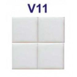 Mozaic sticla V11 suport hartie 20x20 cm  de la VetroGlassMosaic referinta V11